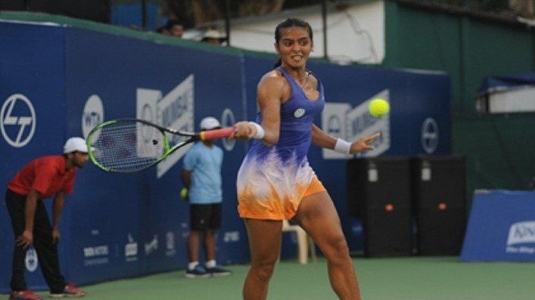 WTA Mumbai Open: Ankita Raina marches on to the QF with a straight-sets win