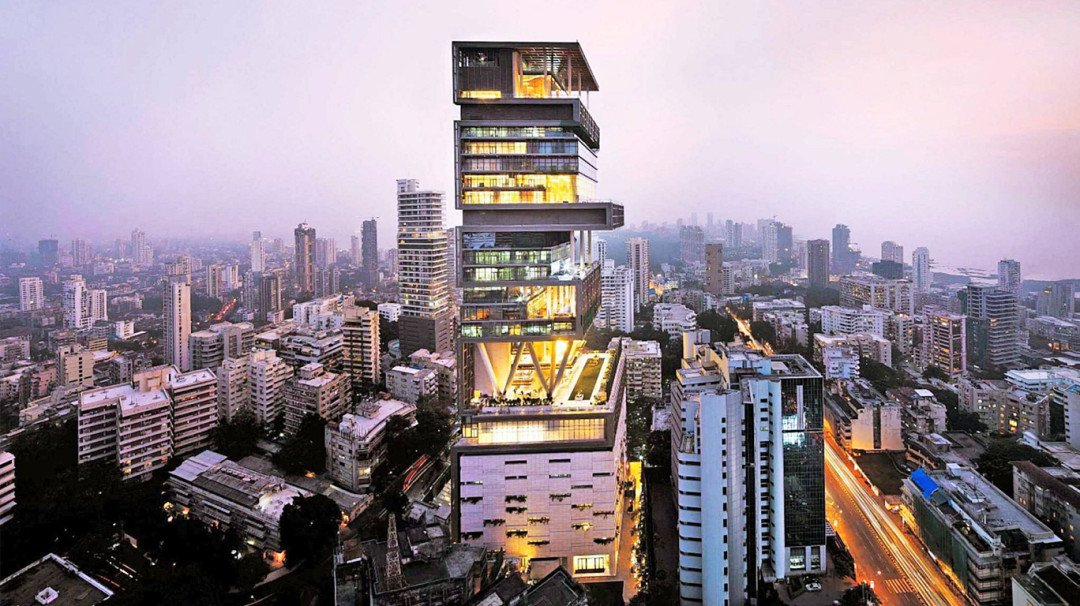 Mukesh Ambani's 'Antilla' allegedly built on land reserved for orphans