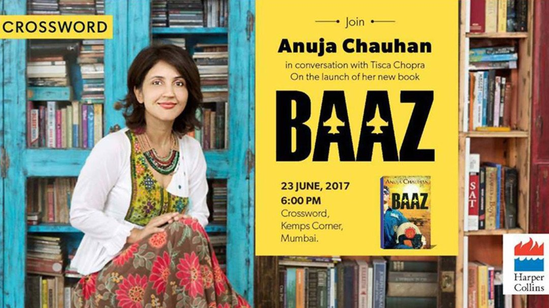 Anuja Chauhan set to launch 'Baaz' this Friday