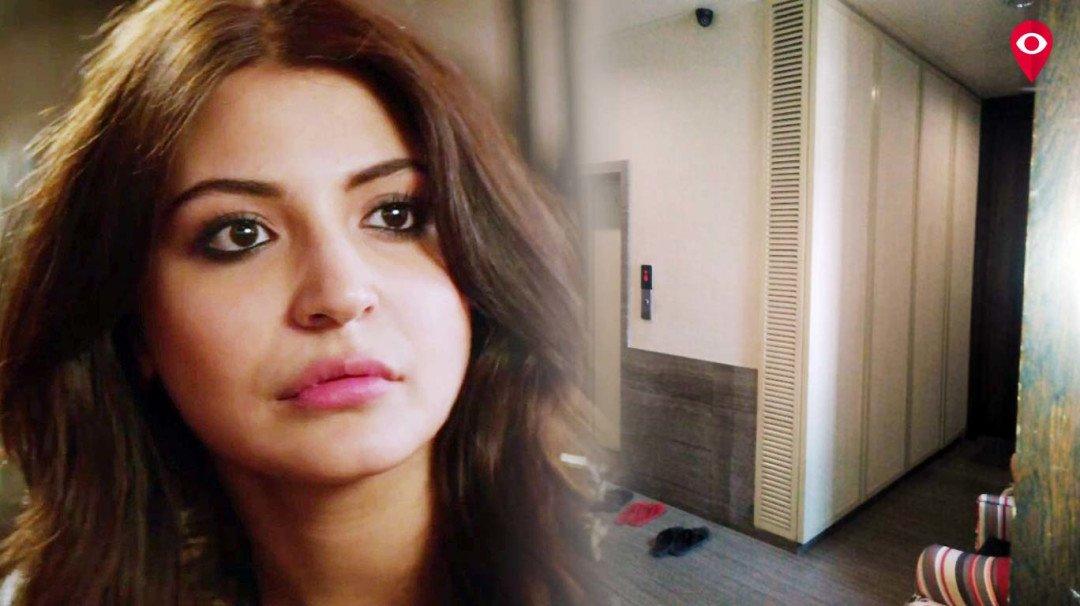फिल्म अभिनेत्री अनुष्का शर्मा से परेशान उनका पड़ोशी