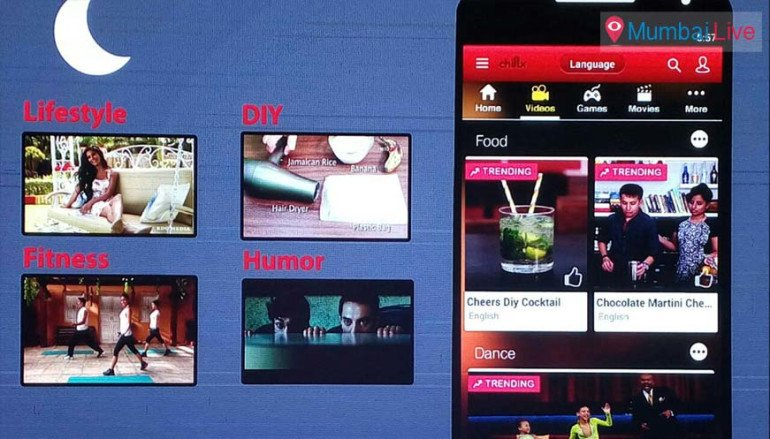 'चिल्क्स' या नवीन अॅप उपक्रमाची घोषणा