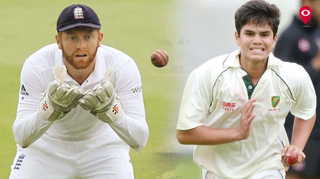 सचिन तेंदुलकर के बेटे अर्जुन ने किया इंग्लिश बल्लेबाज को घायल