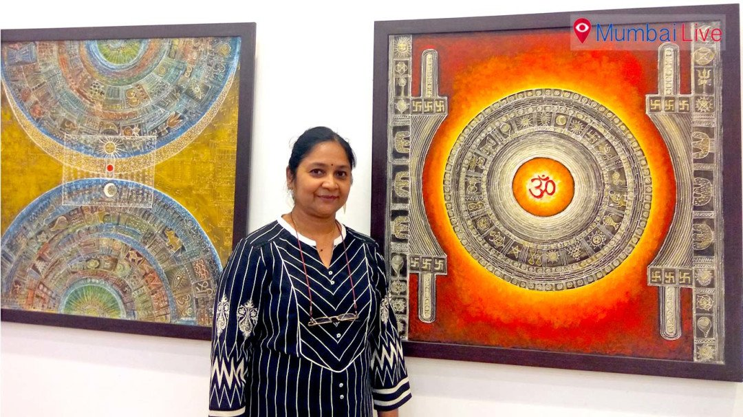 Painting exhibition at Nehru Centre