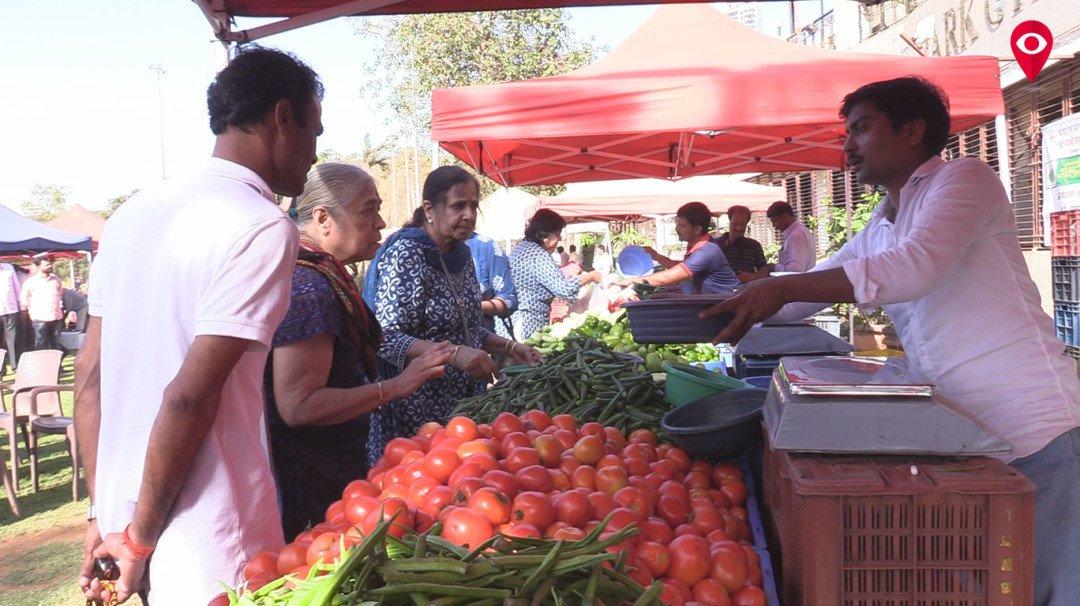 दादर में ''किसानों का साप्ताहिक मार्केट''