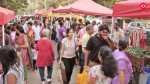 Crowd flocks at the Shivaji Park Athavade Bazaar