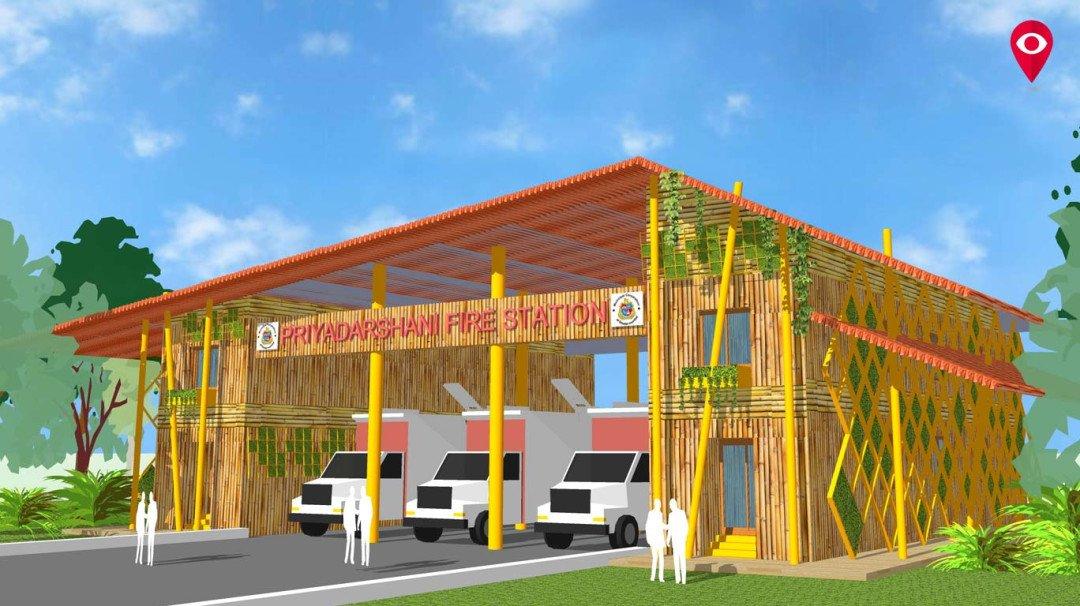 मुंबईतलं पहिलं इको फ्रेंडली अग्निशमन केंद्र