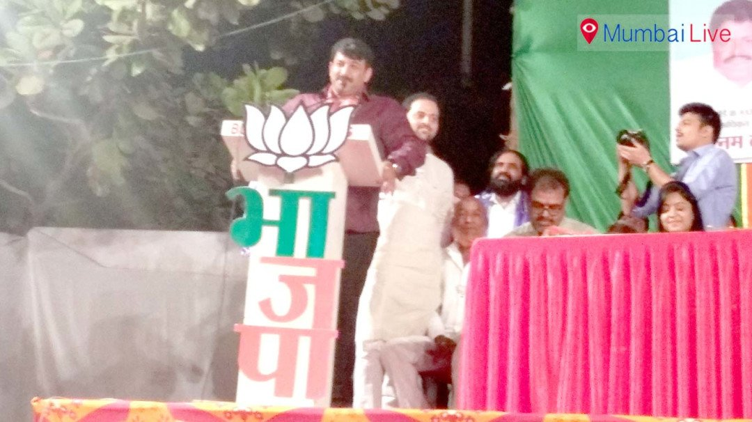 BJP fields Manoj Tiwari for poll campaign in city