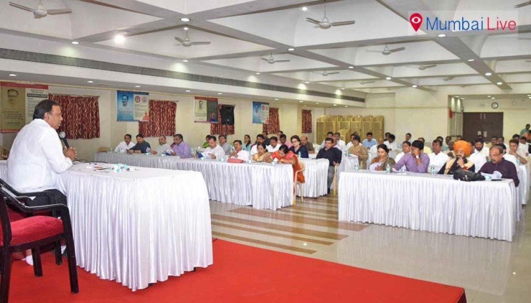 बीजेपी की चुनावी बैठक