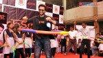 Jackky Bhagnani and Aditya Thackeray promote fitness in BMC school