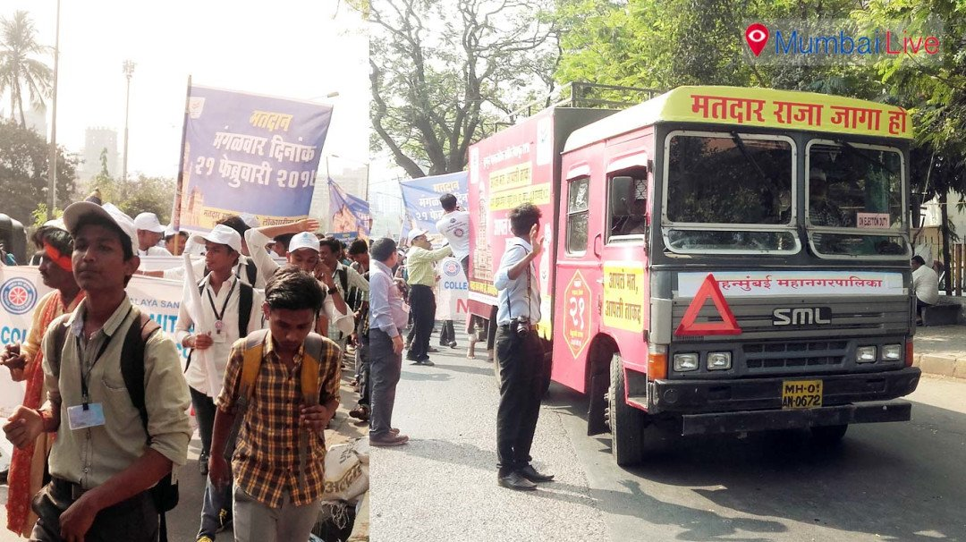 BMC ropes in students to increase poll awareness