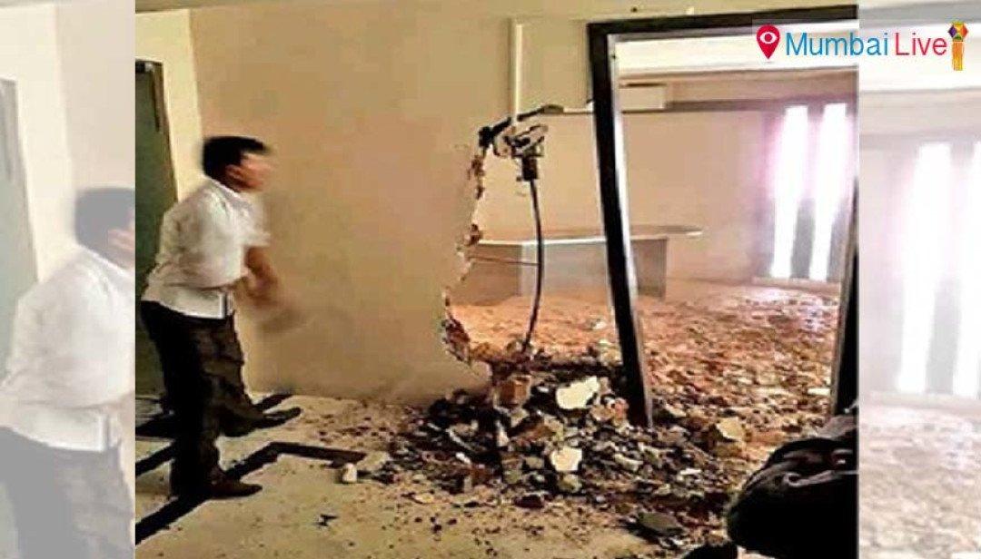 Demolition of 'D' gang member's building starts