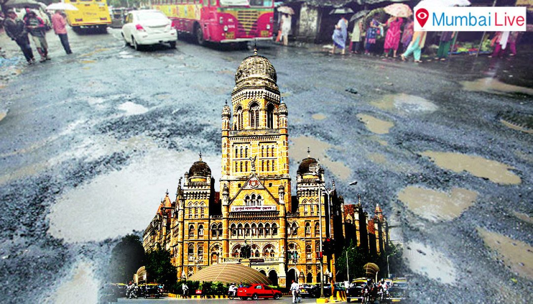 Corporators question BMC about Potholes