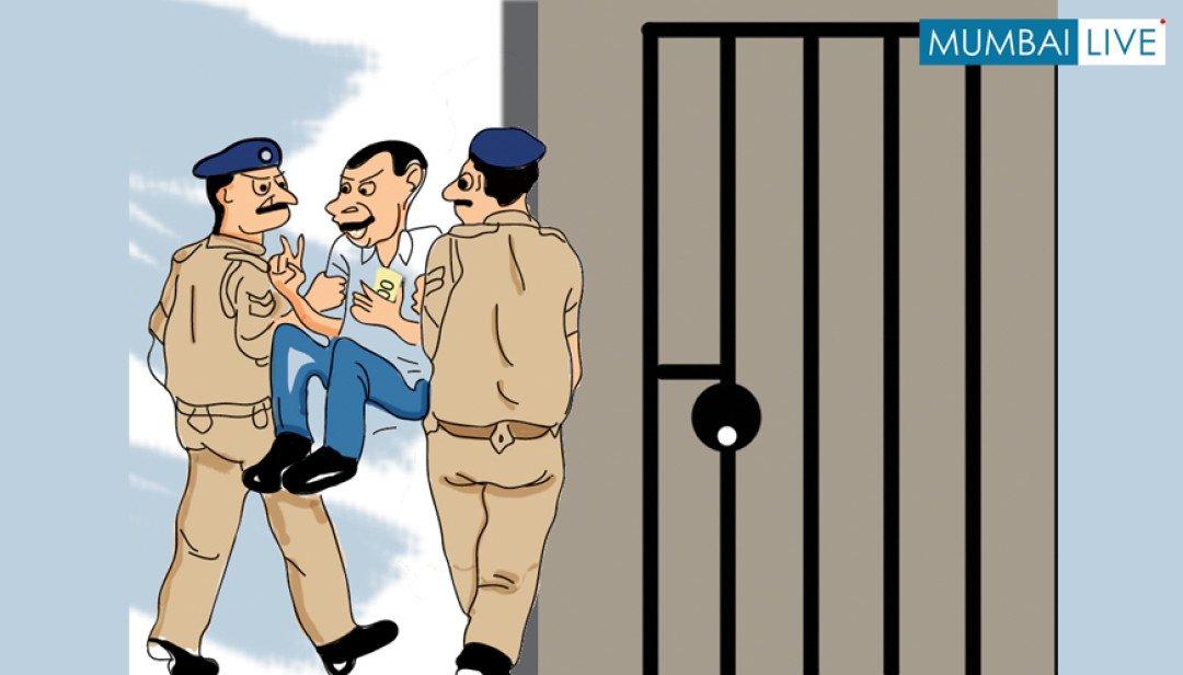 एसीबी ने किया दो ठेकेदारों को गिरफ्तार ।