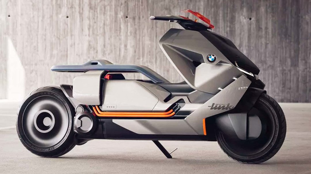 BMW Motorrad launches new Concept Link Scooter