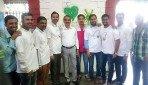 गांधी जयंती पर स्वच्छता अभियान।
