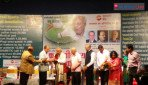 Honouring veteran shuttler Nandu Natekar