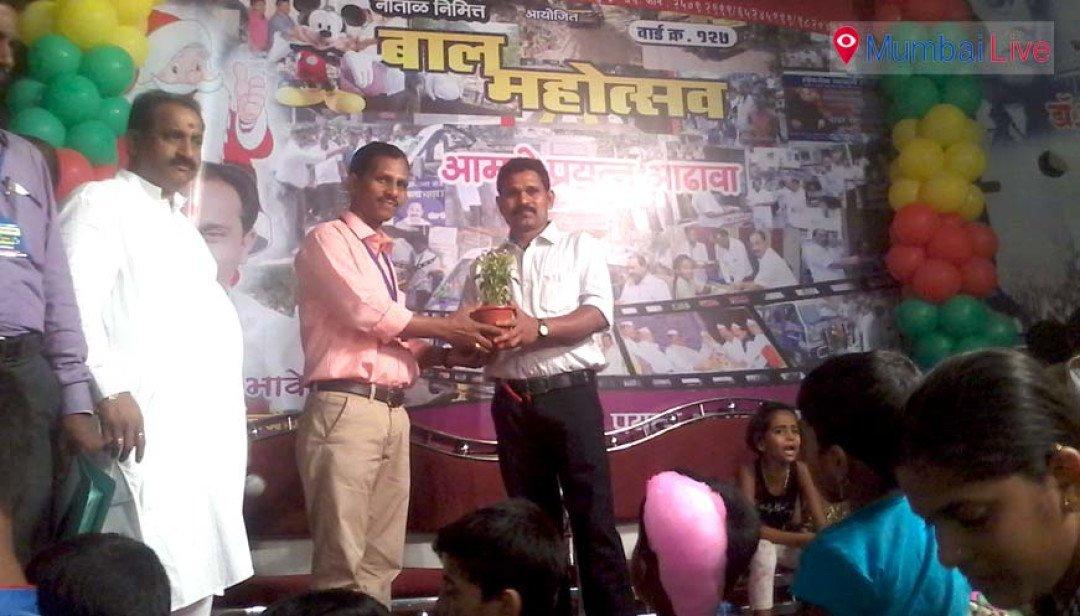 Kids rejoice at Ghatkopar