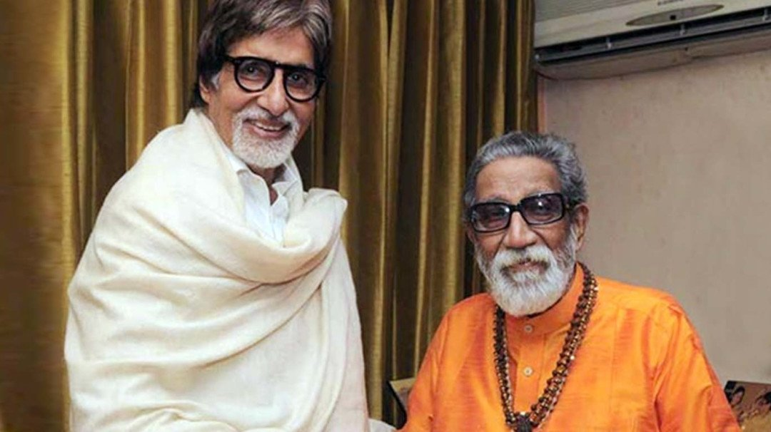 Image result for biopic 'Thackeray',Amitabh Bachchan