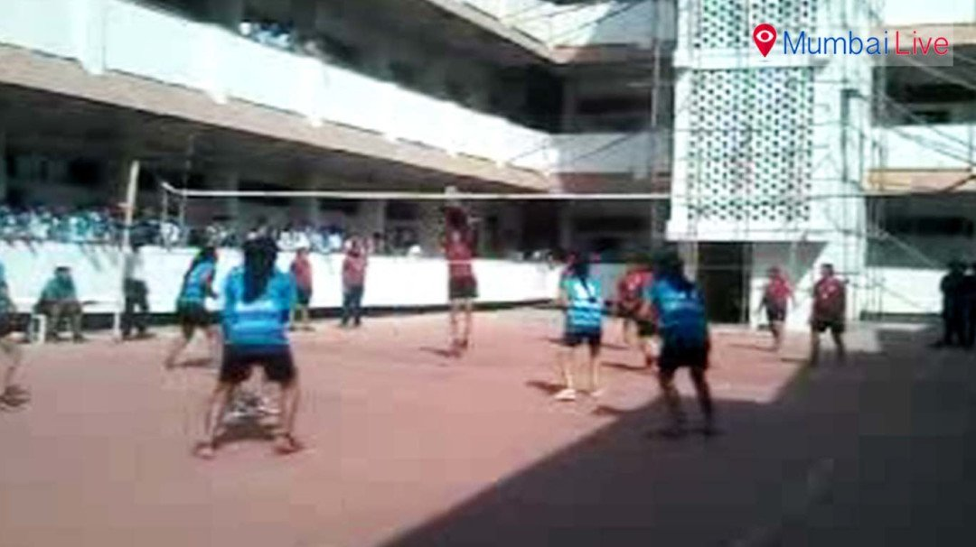 K J Somaiya girls defeated IIT Powai in volleyball finale