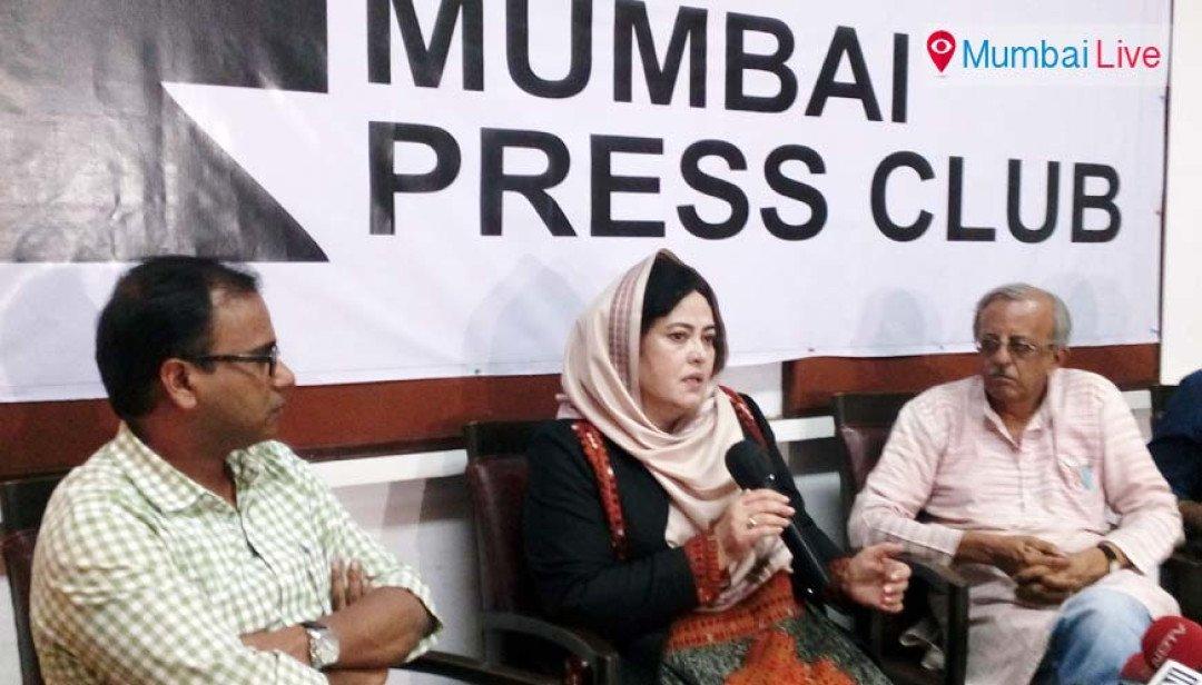Support Balochistan demands activist Naela Qadri