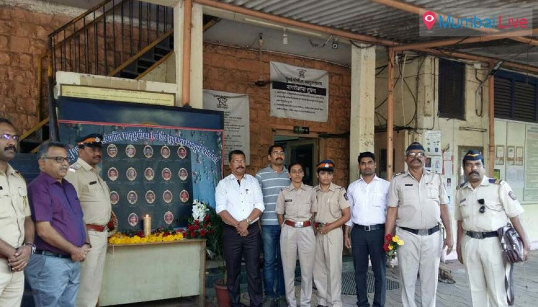 Bandra police remembers 26/11 martyrs