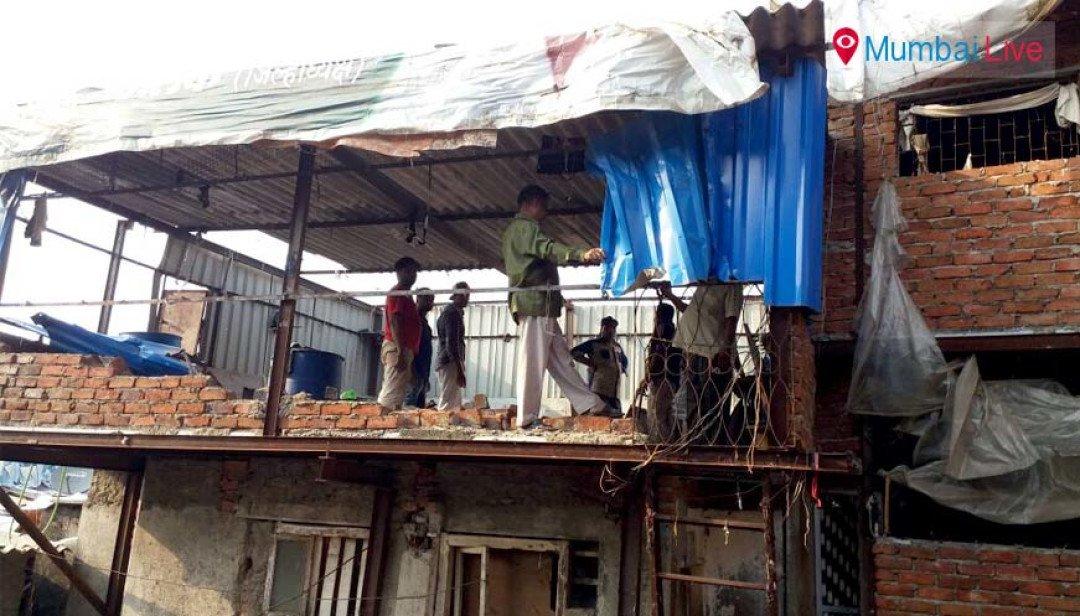 BMC demolishes dangerous 27 slums