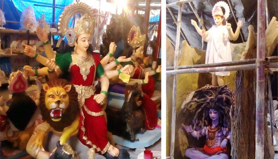 Eco-friendly goddess idols