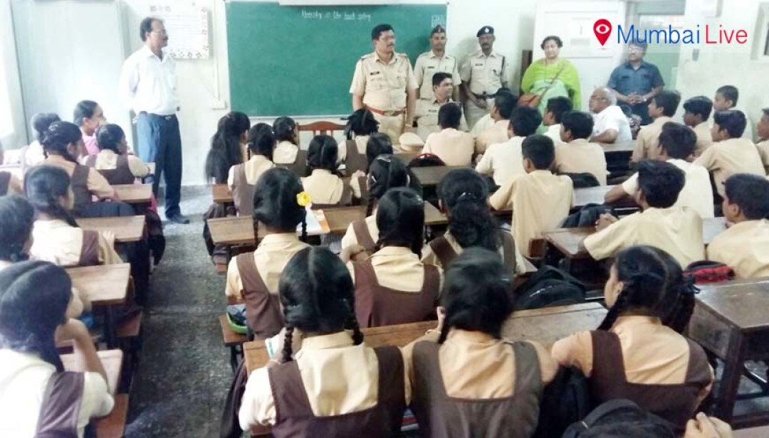 School students guided on safe commuting