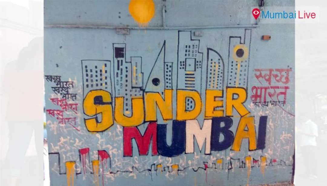Gurunanak collegians paint 'Beautiful Mumbai'