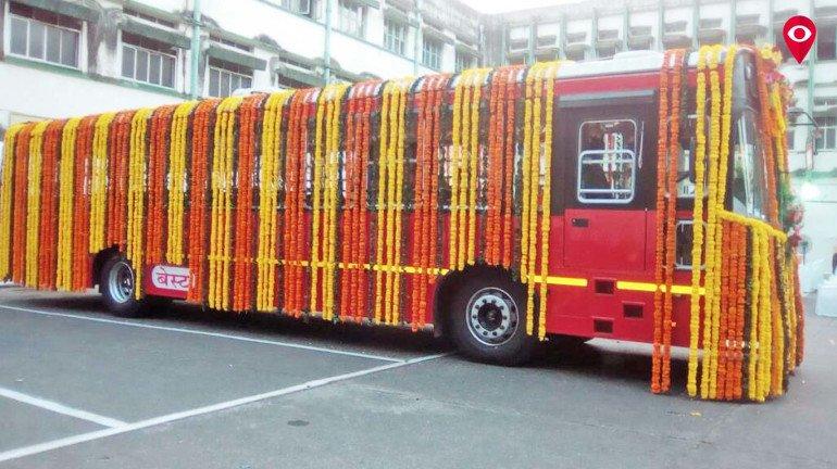 Aditya Thackeray dedicates 75 new BEST buses to public