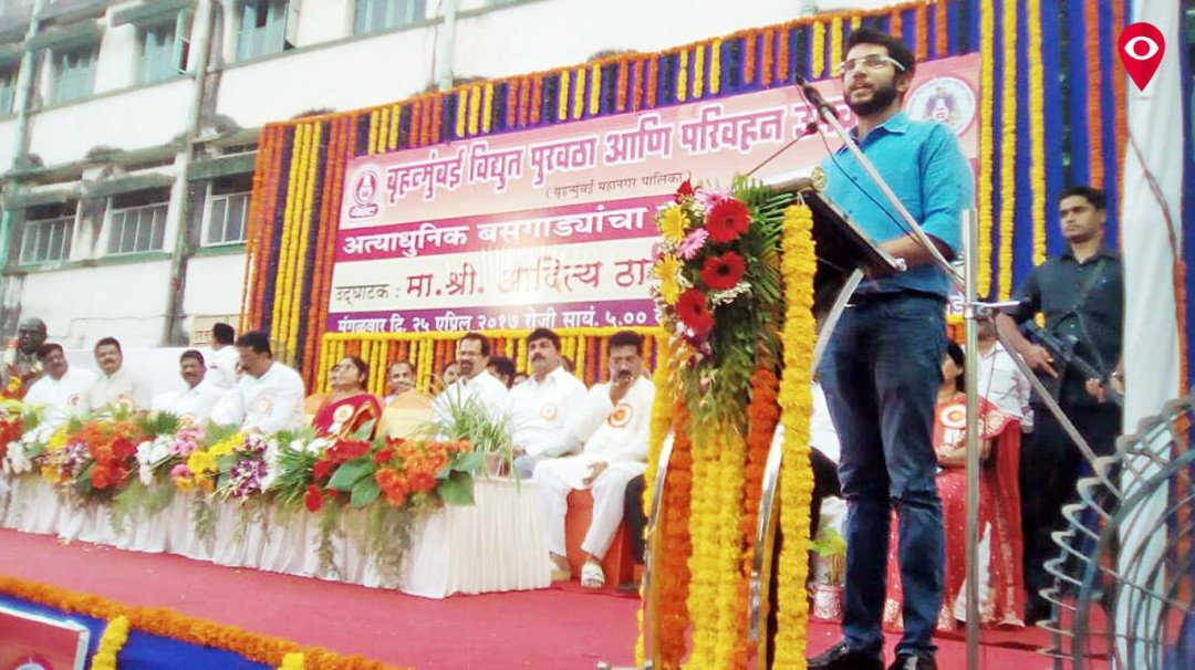 Aditya Thackeray dedicates 75 new BEST buses to public