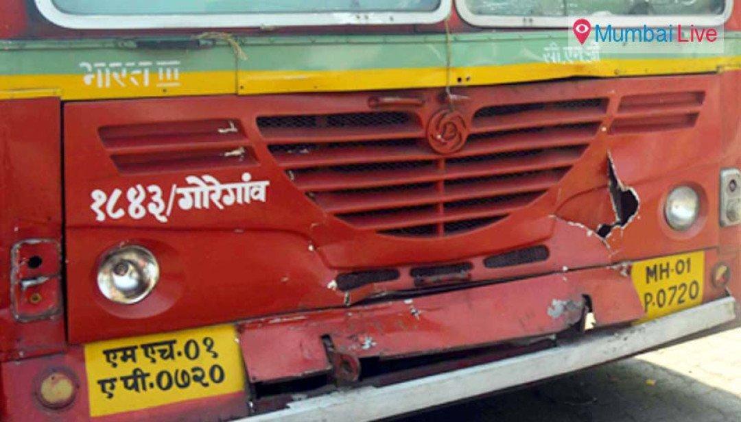 Best Bus Accident in Bhandup