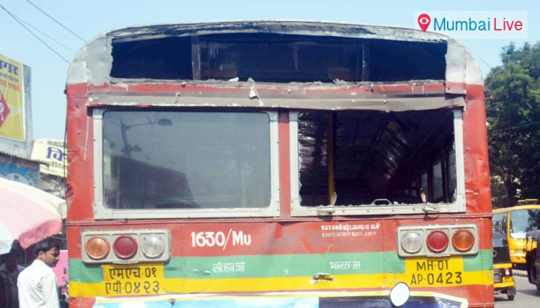 Best Bus Accident in Bhandup