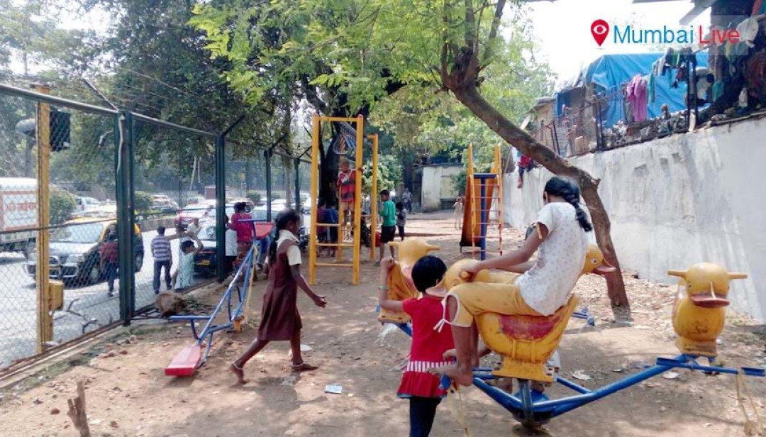 Badhwar Park garden gets new play equipment