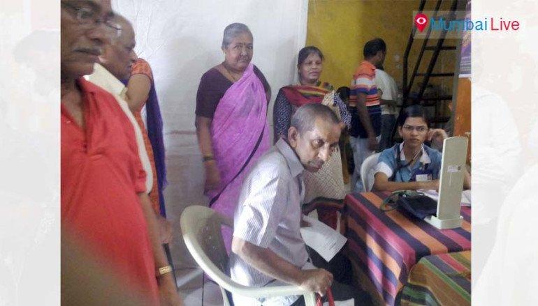 Bhandup's health camp a hit