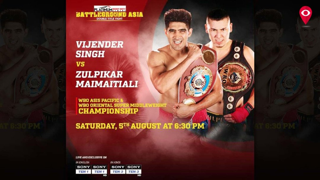 'Battleground Asia' heats up as Vijender Singh takes a dig at his Chinese opponent