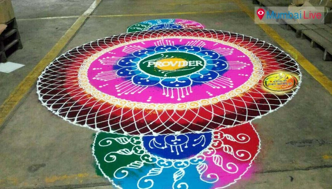 Rangoli workshop in Ghatkopar