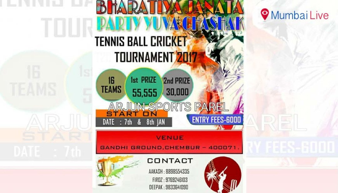 Cricket tourney to start on 7 January