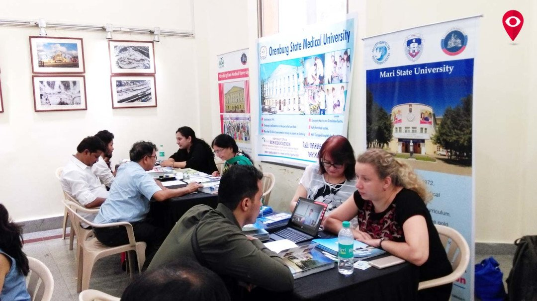 Indian students guided on educational facilities in Russia