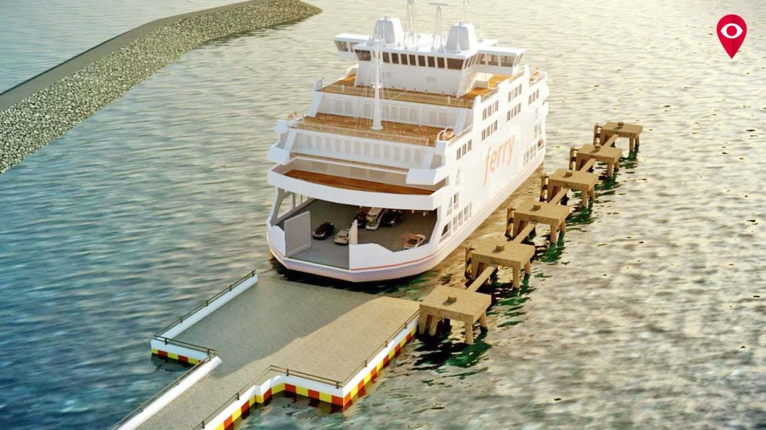 Ro-Ro ferry will get you to Mandwa in 45 minutes