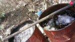 भायंदर में देशी शराब की भट्टी पर पुलिस की कार्रवाई