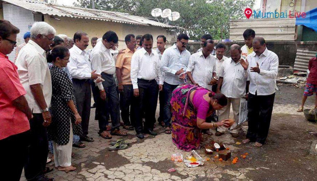 Repair works begin at Bhoiwada transit camp