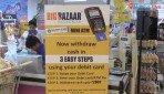 Now, Big Bazaar dispenses notes