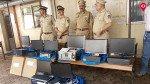 नौकरी के नाम पर करोड़ो की ठगी, चार गिरफ्तार