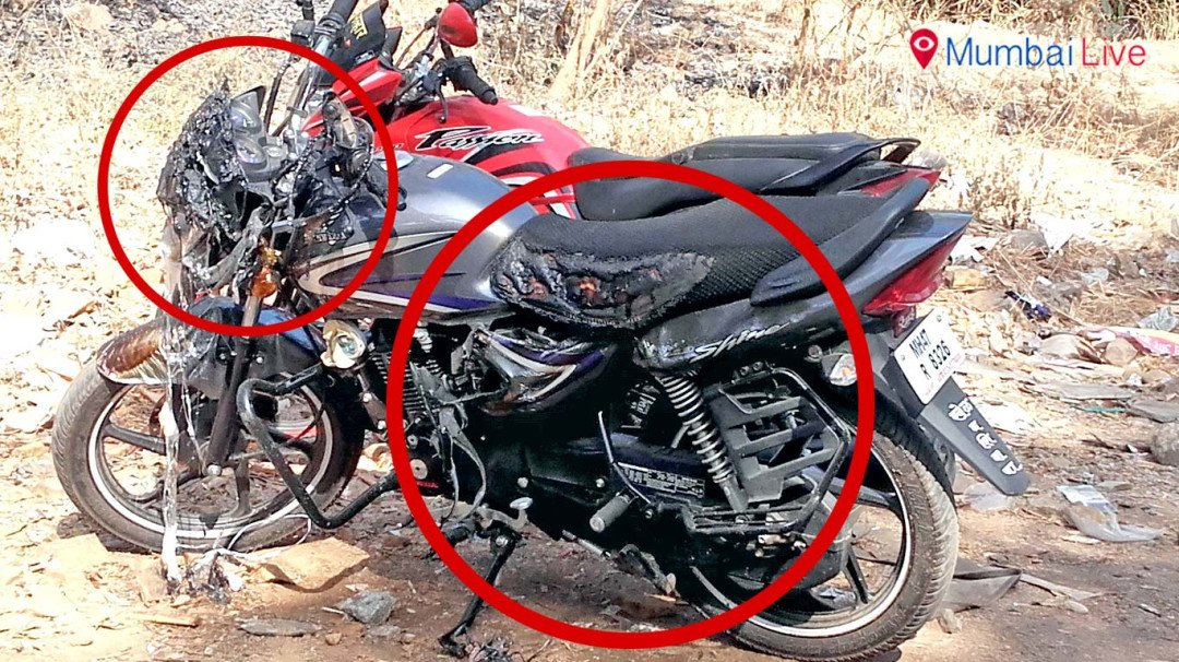 Miscreant sets 5 bikes on fire at Samta Nagar