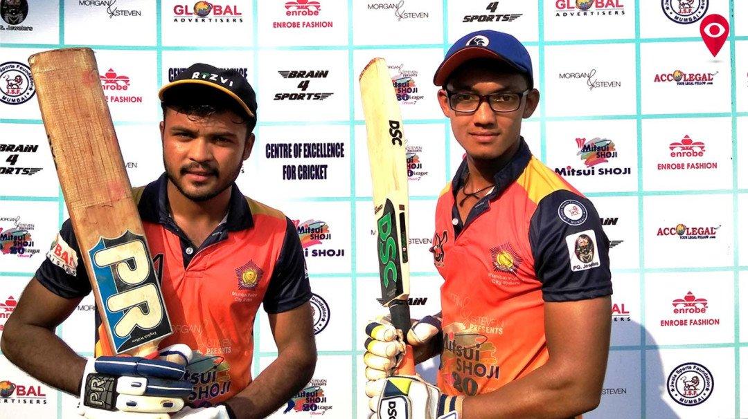 Opener Hardik scores ton, Mumbai Riders defeats Thane Maratha in Mitsui Shoji T-20 match