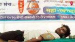रक्तदान शिबिराला नागरिकांचा उत्स्फूर्त प्रतिसाद