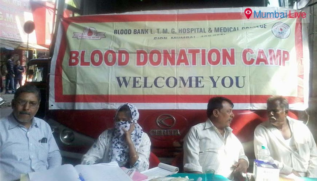Blood donation on wheels