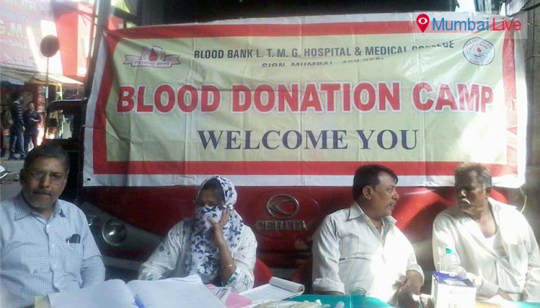 Blood donation on wheels