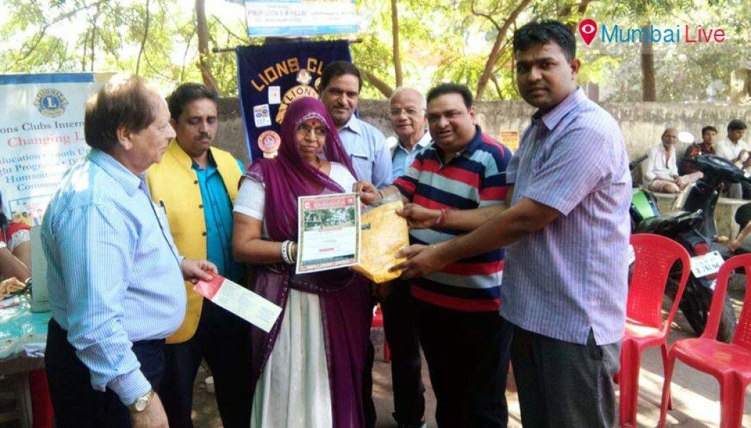 Blood donation at Thakkar Bappa Colony